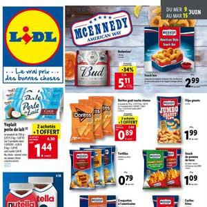 Catalogue Lidl Du 9 Au 15 Juin 2021