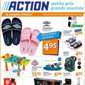 Catalogue Action en ligne Du 16 Au 22 Juin 2021