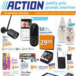 Catalogue Action en ligne Du 21 Au 27 Juillet 2021