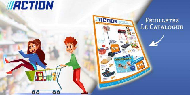 Catalogue Action en ligne Du 7 Au 13 Juillet 2021
