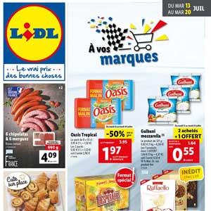 Catalogue Lidl en ligne Du 13 Au 20 Juillet 2021