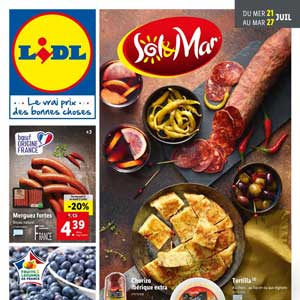 Catalogue Lidl en ligne Du 21 Au 27 Juillet 2021