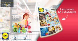 Catalogue Lidl en ligne Du 28 Juillet Au 3 Aout 2021