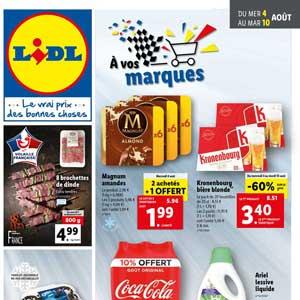 Catalogue Lidl en ligne Du 4 Au 10 Aout 2021