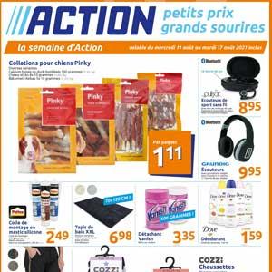 Catalogue Action en ligne Du 11 Au 17 Août 2021