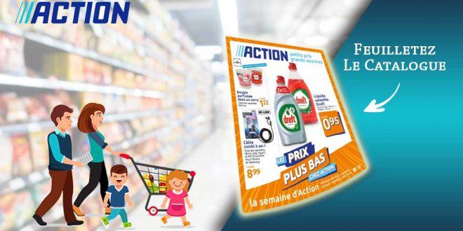 Catalogue Action en ligne Du 1er Au 7 Septembre 2021