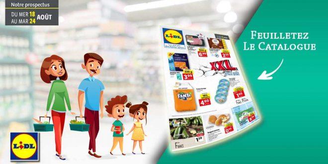 Catalogue Lidl en ligne Du 18 Au 24 Août 2021