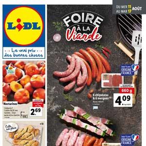 Catalogue Lidl en ligne Du 11 Au 17 Aout 2021