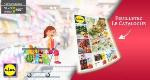 Catalogue Lidl en ligne Du 25 Au 31 Août 2021