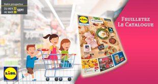 Catalogue Lidl en ligne Du 22 Au 28 Septembre 2021