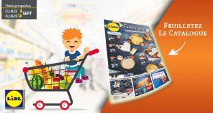 Catalogue Lidl en ligne Du 8 Au 14 Septembre 2021