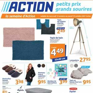 Catalogue Action de la semaine Du 13 Au 19 Octobre 2021