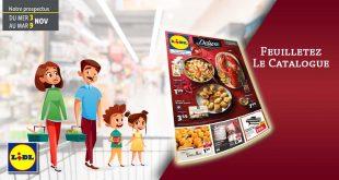 Catalogue Lidl en ligne Du 3 Au 9 Novembre 2021